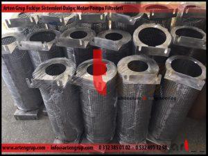 Dalgıç Motor Pompa Filtreleri