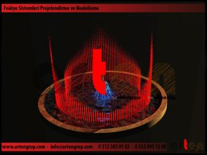 Kuru Havuz Müzikli Danslı Süs Havuzu Fıskiye Sistemi Proje ve Modelleme_4