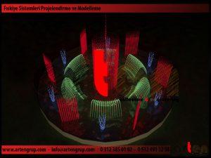 Kuru Havuz Müzikli Danslı Süs Havuzu Fıskiye Sistemi Proje ve Modelleme_7