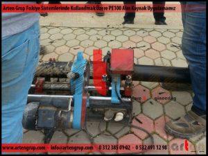 Fıskiye Sistemleri PE100 Boruya Alın Kaynak Uygulamamız