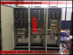 Fıskiye sistemi elektrık ve otomasyon panosu uygulaması 2