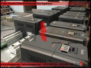 Fıskiye sistemi elektrık ve otomasyon panosu uygulaması