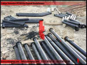 Fıskiye sistemleri PE100 alın kaynak imalatlarımız
