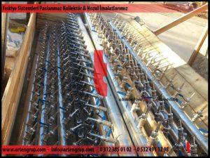 Fıskiye sistemleri paslanmaz kollektör ve nozul imalatlarımız
