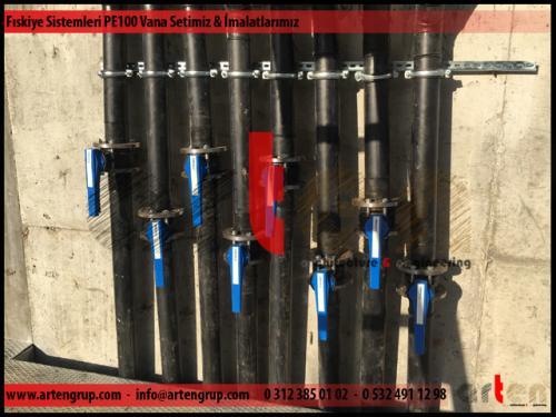Fıskiye sistemleri PE100 Vana Seti Uygulamalarımız